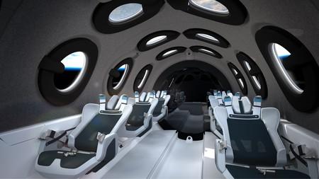 Virgin Galactic desvela la futurista cabina de SpaceShipTwo, su nave para turismo espacial