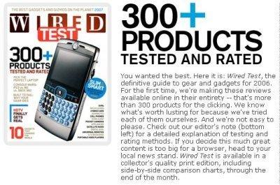 300 gadgets a revisión por Wired