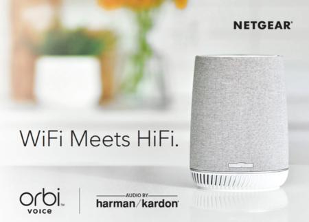 Nuevo Orbi Voice de Netgear: punto de acceso WiFi, altavoz inteligente con Alexa y sonido Harman Kardon