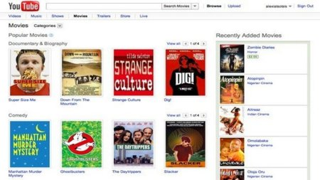 YouTube podría haber llegado a un acuerdo con Hollywood para incorporar contenidos de calidad a su servicio de VOD