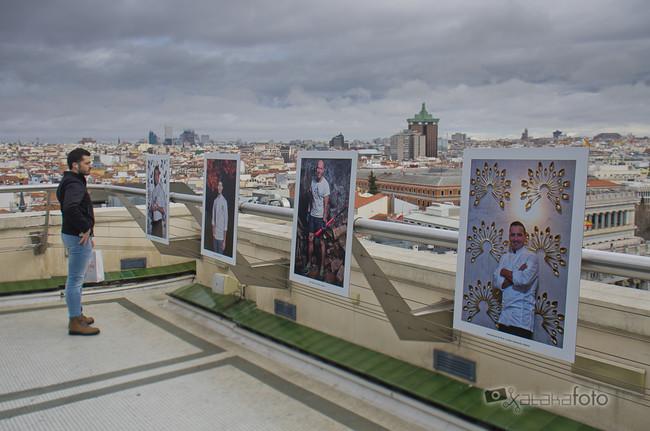 'Chefs to face', una exposición fotográfica en las alturas de la mano de Roberto Ranero