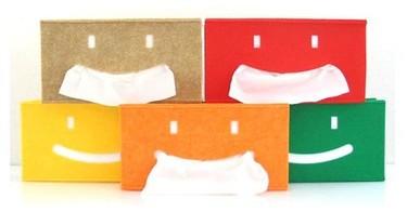 Alegre dispensador para pañuelos de papel