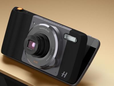 Hasselblad True Zoom convierte los teléfonos Motorola en cámaras compactas