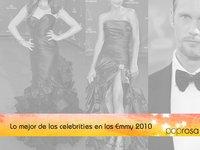 Los Emmy 2010: Lo mejor de las celebrities