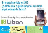 Participa con Libon y gana un iPhone 6 y cuentas Premium para llamar a más de 100 países [finalizado]