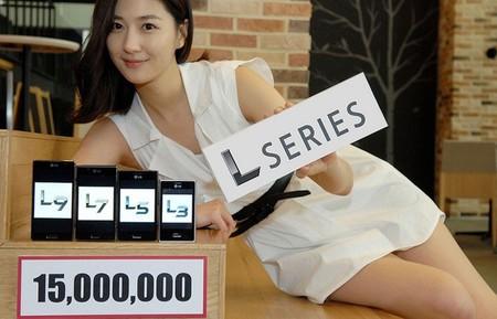 15 millones de LG Optimus L vendidos alrededor del mundo