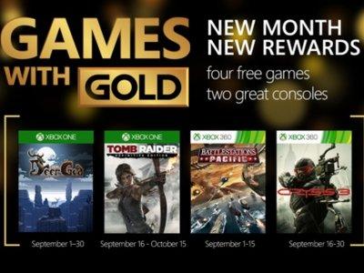 El excelente Tomb Raider: Definitive Edition se cuela en el Games with Gold de septiembre