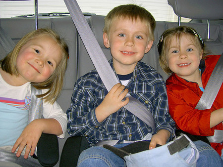 Un viaje en coche con los niños