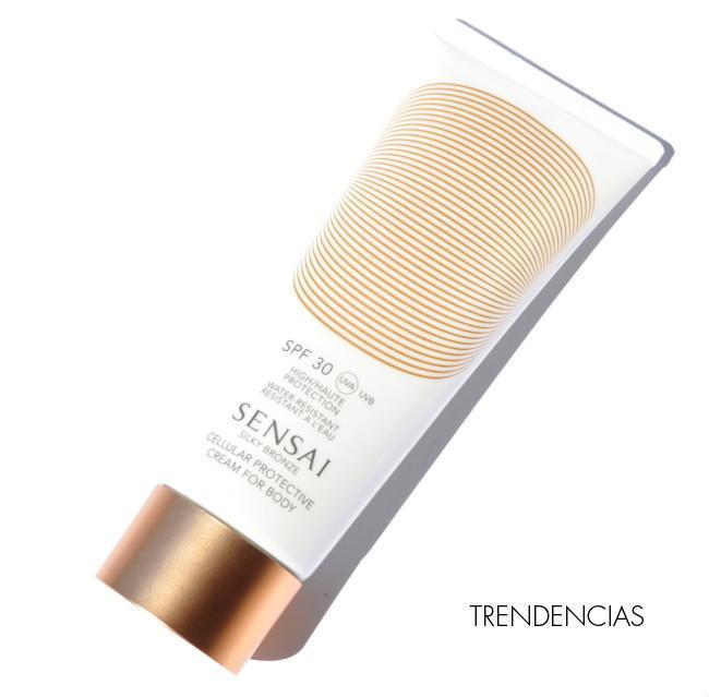 """Probamos la """"Cellular Protective Cream for Body""""de Sensai: el equilibrio entre bronceado y protección"""