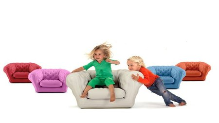 Baby Blo, sillón hinchable para los más pequeños