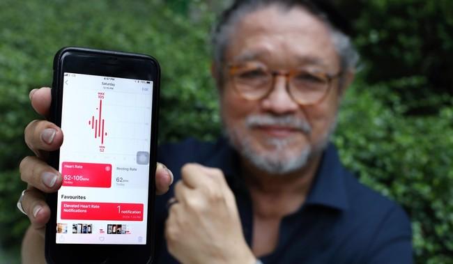 Apple Watch salva hombre de 76 años