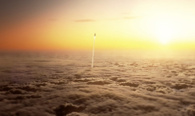 Un increíble viaje interestelar a través de este maravilloso trabajo de animación