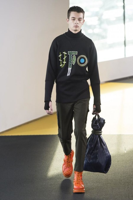 Kenzo Mens Autumn Fall Winter 2015 Pfw4
