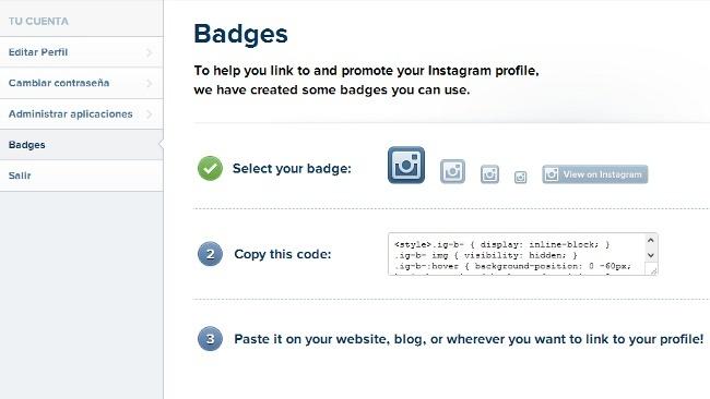Instagram estrena sus badges para sitios web y son francamente mejorables