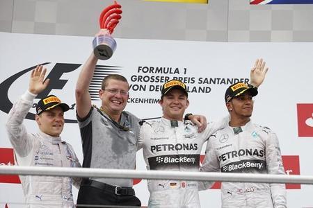 Gran Premio Alemania: una de cal y una de arena (carrera)