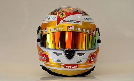 Fernando Alonso estrena nuevo diseño de casco con motivo del Gran Premio de Mónaco