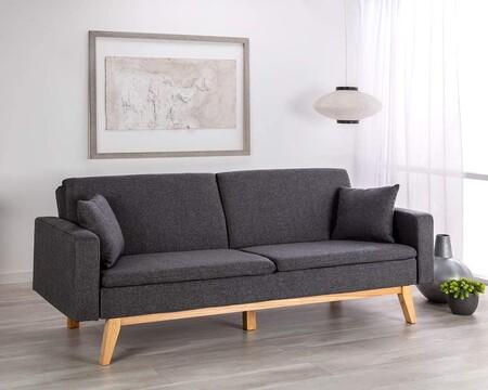 Diseño nórdico y sistema de apertura clic-clac: así es el sofá cama más vendido de Amazon