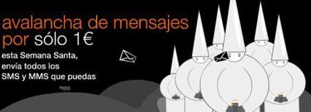 Vuelve Avalancha de mensajes a Orange en Semana Santa