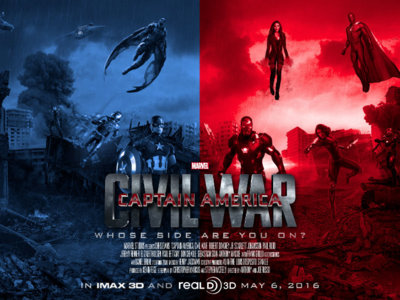 Cómic en cine: 'Capitán América: Civil War', de Anthony & Joe Russo