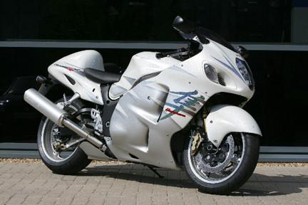 Edición limitada de la Suzuki Hayabusa