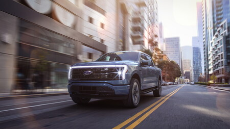 Ford F 150 Lightning Pick Up Electrica 10