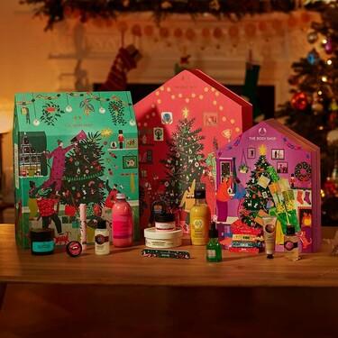Así de ideales son los calendarios de adviento con los que The Body Shop espera la Navidad y que son aptos para todos los presupuestos
