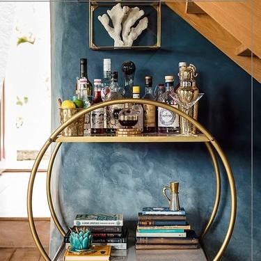 10 muebles y objetos decorativos con toques dorados para recibir el 2019 con un poco de glamour
