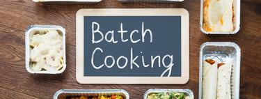 Batch cooking: cómo organizar mejor tus comidas durante la cuarentena por el coronavirus