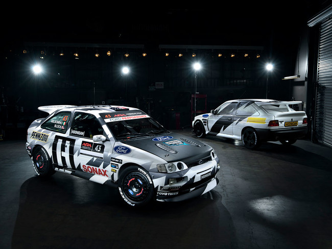 Ken Block vuelve a los rallies... ¡con un  Ford Escort RS Cosworth!