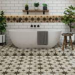 Suelos inspiradores y con mucho estilo para el cuarto de baño