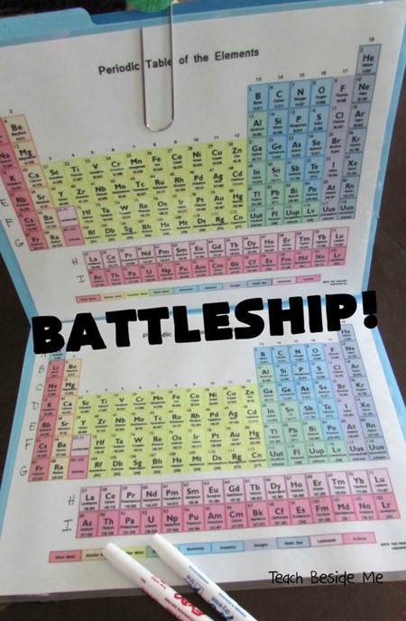 Periodic Table Battleship Elements Karyn Tripp 21
