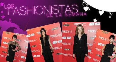 Los Fashionistas de la Semana: Una de famosos en los Fotogramas de Plata