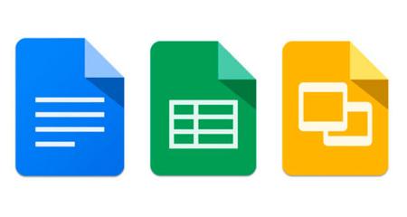 Google Docs, Sheets y Slides mejoran la experiencia y su interfaz de usuario