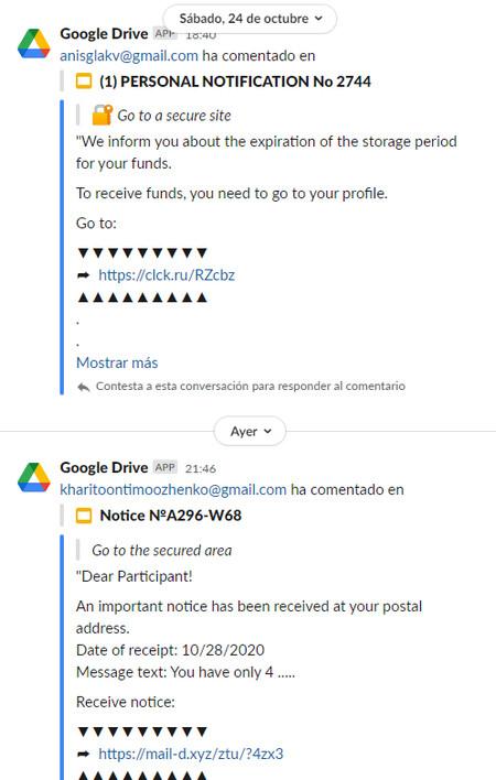 Phishing Google Drive