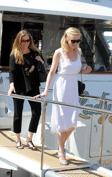 Kirsten Dunst Cannes blanco