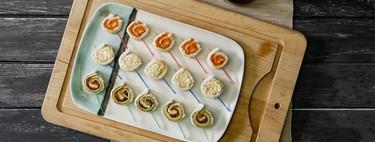 Nueve aperitivos que se comen de un bocado para arrancar (con buen sabor) una comida o cena de celebración