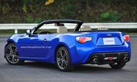 Subaru BRZ y Toyota GT 86 llevarán tu melena ondeando al viento