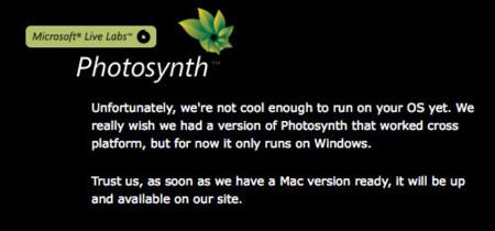 """Microsoft: """"No somos lo suficientemente guais"""" (para funcionar en Mac OS X)"""