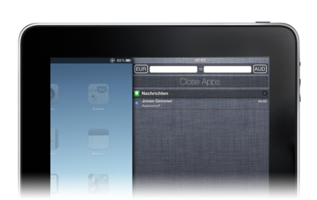 MountainCenter, centro de notificaciones en iOS al estilo Mountain Lion. Sólo para dispositivos con jailbreak