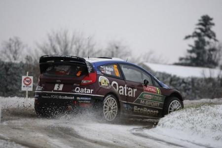 La nieve, principal quebradero de cabeza para el Rallye de Montecarlo