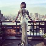 Jourdan Dunn enamora en la Gala del MET 2016 con un vestido muy futurista