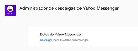 Administrador De Descargas De Yahoo Messenger