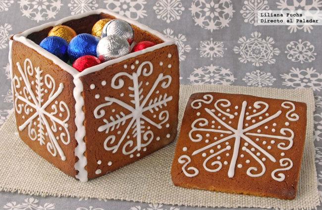cajas con masa de galletas