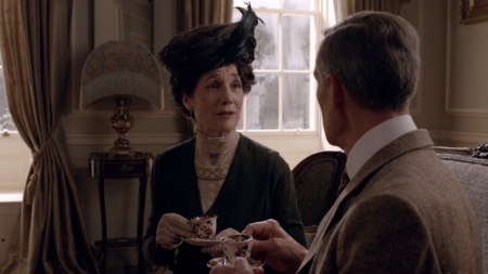 Harriet Walter, de Downton Abbey a Star Wars