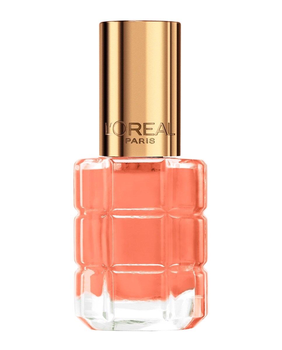 Laca de uñas Le Vernis en tono melocotón de L'Oréal Paris