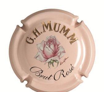 G.H.Mumm Brut Rosé para San Valentín, copa y cápsula como regalo a tu enamorada