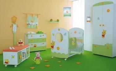 Dormitorio infantil Winnie the Pooh para los más pequeños de la casa
