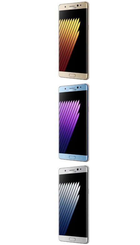 Samsung Galaxy Note 7 Leak Colores 1
