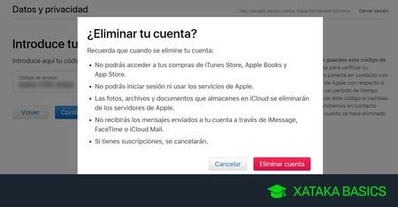 Cómo eliminar para siempre tu cuenta de iCloud