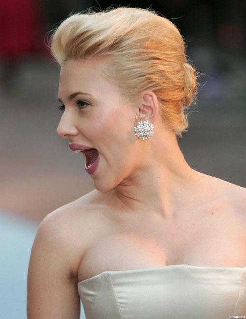 Foto de Peinados navideños, por Scarlett Johansson (8/9)